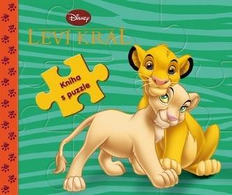Leví kráž kniha s puzzle