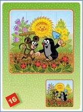 Krtek a myška - Maze game (posouvačka/skládačka)