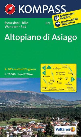Altopiano di Asiago 623 NKOM 1:25T