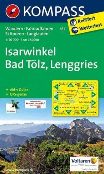 Kompass Karte Isarwinkel, Bad Tölz, Lenggries
