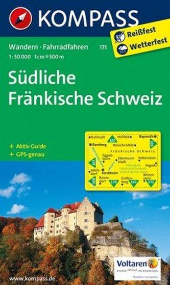 Kompass Karte Südliche Fränkische Schweiz