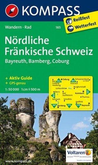 Kompass Karte Nördliche Fränkische Schweiz