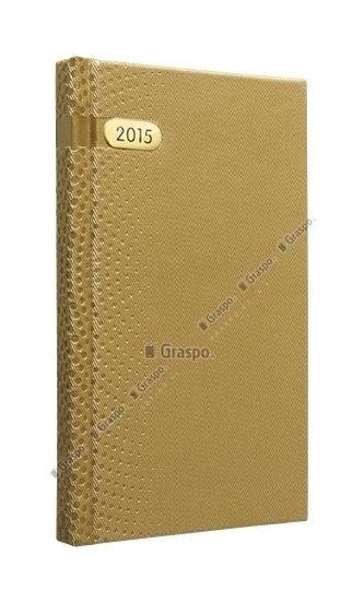 Diář 2014 - Dorato zlatý kapesní