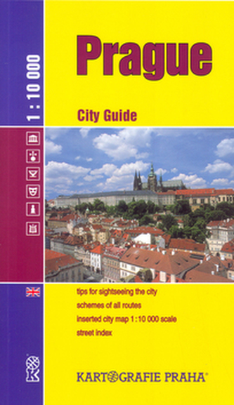 Prague City Guide 1:10 000