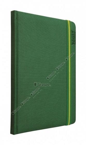 Diář 2014 - Janus zelený denní A5