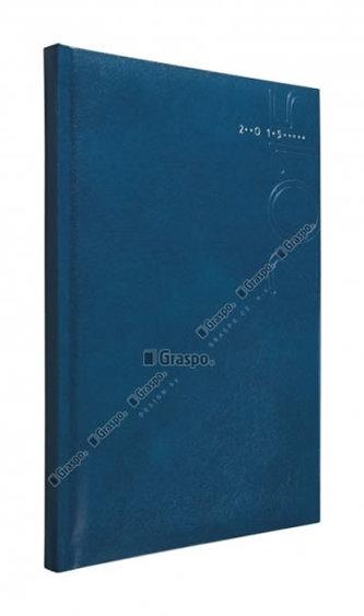 Diář 2014 - Kronos modrý - lesklý denní A5