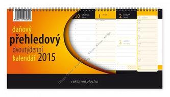 Kalendář 2015 - Daňový přehledový stolní