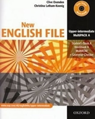 New English File Upper Intermediate Multipack A - Oxenden Clive, Latham-Koenig Christina,
