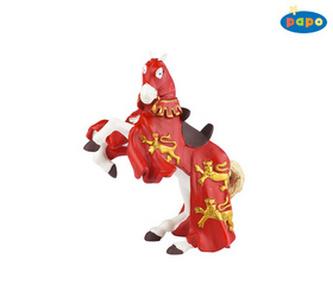 Kůň krále Richarda červený