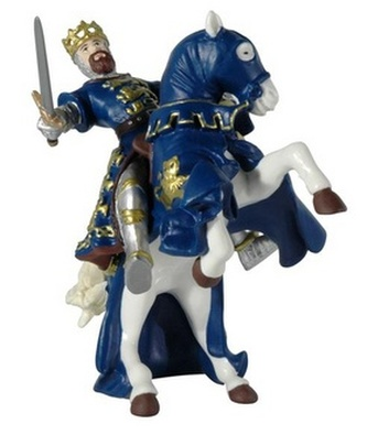 Kůň krále Richarda modrý