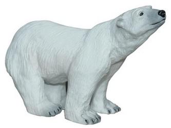 Lední medvěd stojící