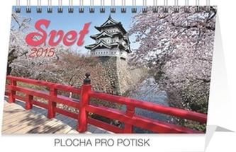 Svet - stolní kalendář 2015