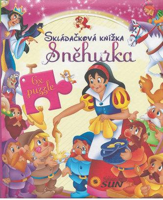 Skládačková knížka Sněhurka