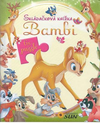 Skládačková knížka Bambi