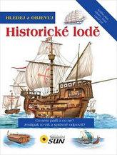 Hledej a objevuj historické lodě