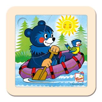 Puzzle, Baribal na člunu