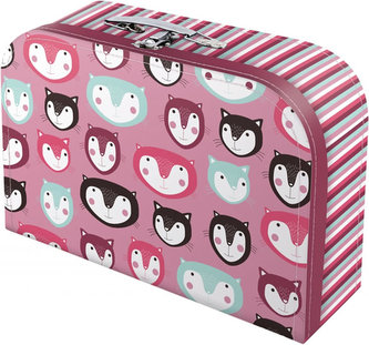 Kočky - kufřík dětský, velký, 35x21x9,5 cm