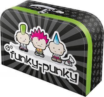 Punk - kufřík dětský velký, 35x21x9,5 cm