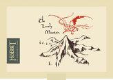 Hobbit - peněženka, kanvas