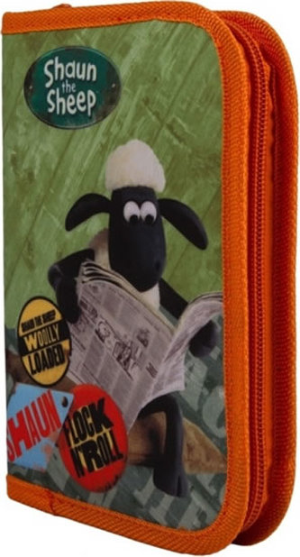 Ovečka Shaun - školní penál s náplní