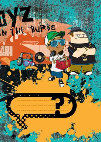 Phineas & Ferb Boys - školní sešit A5, 40 listů, čtverečkovaný
