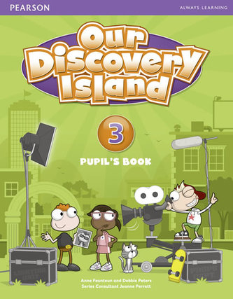 Our Discovery Island 3 Student´s Book plus pin code - Peters Debie