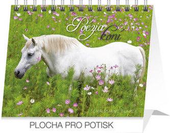 Poézia koní Praktik - stolní kalendář 2015