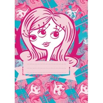 Příšerky Girls - školní sešit A5, 40 listů, nelinkovaný