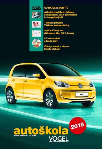 Autoškola 2015 - 3 sešity (Pravidla, předpisy + Konstrukce, údržba, teorie jízdy + Testy) + CD,  aktualiz.k 1.11.2014