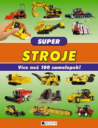 Super stroje Více než 100 samolepek!