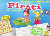 Piráti Plagáty do detskej izby na vymažovanie