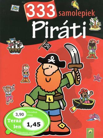 Piráti 333 samolepiek