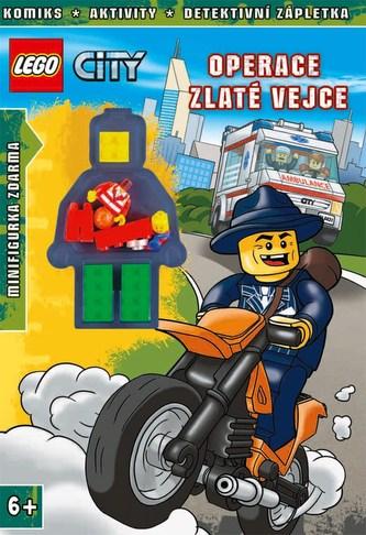 LEGO® CITY Operace Zlaté vejce