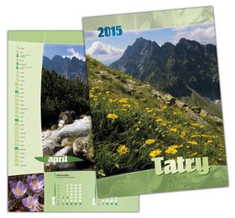 Tatry 2015 Nástenný kalendár