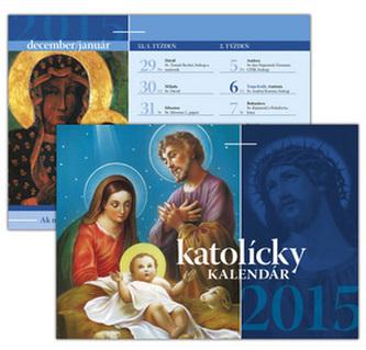 Katolícky kalendár 2015 Stolový kalendár