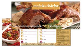 Moja kuchárka 2015 Stolový kalendár