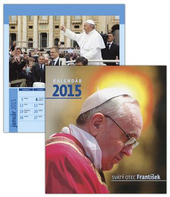 Svätý otec František 2015 Stolový kalendár