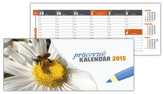 Pracovný kalendár 2015 Stolový kalendár Vežký