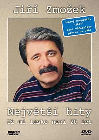 Jiří Zmožek - Největší hity - Už mi lásko není 20 let - DVD - neuveden