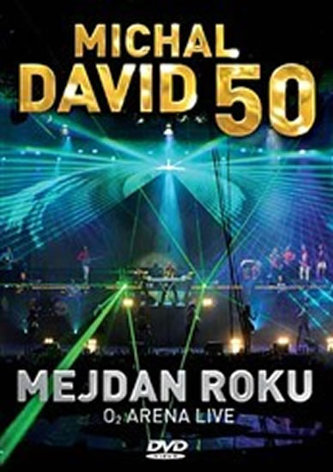 Michal David - Mejdan roku - DVD