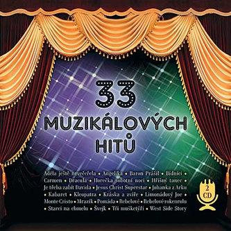 33 muzikálových hitů - 2 CD