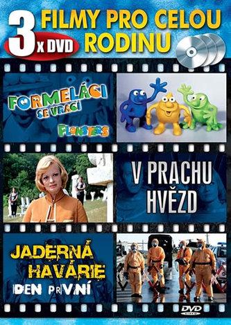 Popron music - Filmy pro celou rodinu - 3 DVD