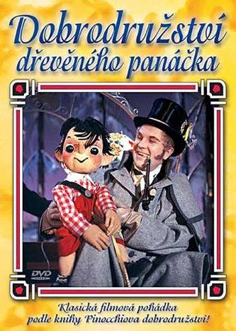 Dobrodružství dřevěného panáčka - DVD