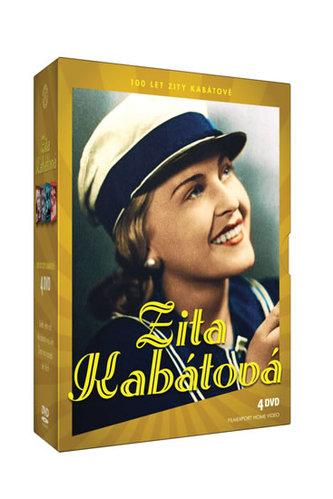 Zita Kabátová 100 let - 4 DVD