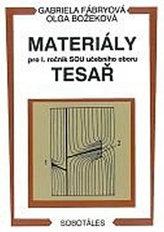 Materiály - pro I. roč. SOU učebního oboru tesař