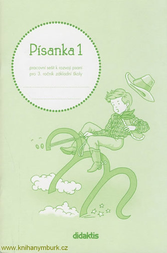 Písanka 3 - 1. díl (pro 3. roč. ZŠ) - Halasová Jitka