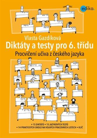 Diktáty a testy pro 6. třídu - Náhled učebnice