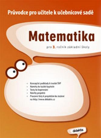 Průvodce k učebnicím matematiky 3