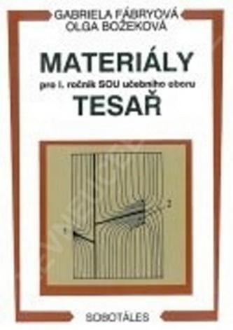 Materiály pro 1. ročník SOU obor tesař