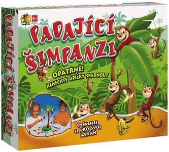 Hra-padající šimpanzi